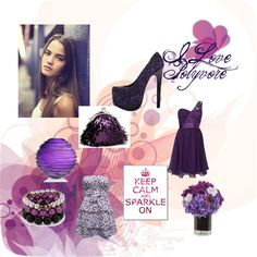 """Purple"" by snoopy341 ❤ liked on Polyvore"