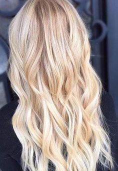 Remy Human Hair Sew in Weft Nordic Blonde Balayage - Platinum Blonde Hair Extensions Blondes, Tape In Hair Extensions, Blonde Extensions, Brown Blonde Hair, Wavy Hair, Medium Blonde, Medium Brown, Medium Hair, Nordic Blonde