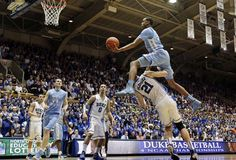 John Henson - UNC Tarheels 3/3/12--Just trying to make your last game special Miles Plumlee :)))