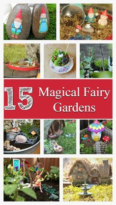 15 Fairy Gardens tha