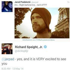 Jared Padalecki  Richard Speight Jr. | Supernatural fandom