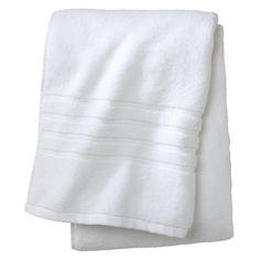 Luxury Bath Sheet True White - Fieldcrest