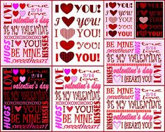 Cute and free Valentine's Day printable shared with us at Inspiration Friday from Mom on Timeout