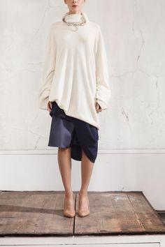 Patrizia Pepe Knit + Country Road Skirt