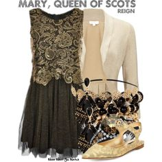 Inspired by Adelaide Kane as Mary, Queen of Scots on Reign. Beautiful Outfits, Cool Outfits, Fashion Outfits, Hijab Fashion Inspiration, Style Inspiration, Reign Dresses, Reign Fashion, Disney Bound Outfits, Fandom Fashion