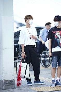 [AIRPORT] 150615: BTS Kim Taehyung at Incheon Airport || sxmmie*
