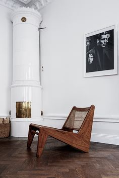PIERRE JEANNERET | Pair of low chairs, model no. PJ-SI-59-A, Chandigarh , circa 1955, teak and cane