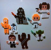Bichito Beads !!: Mis Hama Beads de Star Wars!