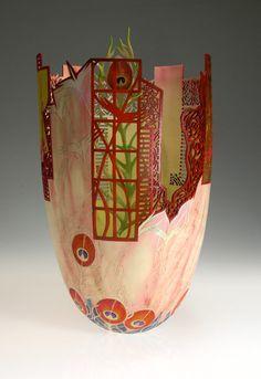 Bihn Pho - wood and acrylic