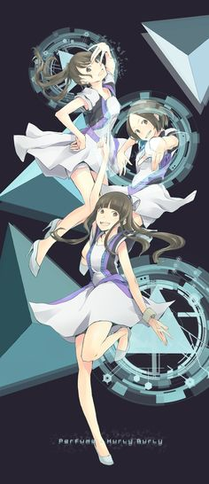 Japanese idol group Perfume