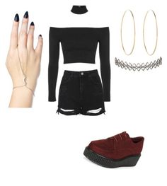 """""""👀"""" by bemna on Polyvore featuring New Look, Assya London, Topshop, Maria Francesca Pepe and Ana Accessories"""