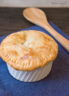 Chicken Pot Pie with Butternut Squash and Bacon from @Jennifer ~ Savory Simple