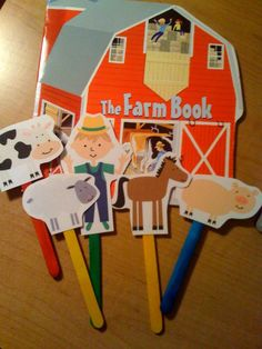 Preschool Printables: Down on the Farm Printable Más Farm Animals Preschool, Preschool Books, Preschool At Home, Preschool Printables, Preschool Crafts, Farm Activities, Preschool Activities, Farm Games, Farm Lessons