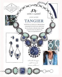 Im definitely a fan of #delicate and #dainty #jewelry , #chloeandisabel has so much of my style, but we also have jewelry for the #trendy , #bold , and #colorful women as well! #tangier is a Chooe + Isabel #collection that features hues of blue. This collection is #loud but not over the top! Check it out in my online boutique #gorgeous #blue #fashion #womensfashion www.chloeandisabel.com/suzannefetting