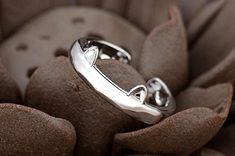 Cute Fashion, Mens Fashion, Cat Ring, Cat Ears, Silver Plate, Cat Lovers, Jewelery, Silver Rings, Fashion Jewelry