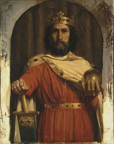Charles the Great, King of the Franks - Jean Louis Ernest Meissonier also known as charlemagne
