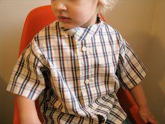 Tutorial by Rae: Make a Men's Shirt into a Boy's Shirt - Made By Rae