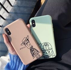 Cute Cartoon Toy Story Buzz Lightyear Phone Case For iphone Xs MAX XR elegan - Iphone XS - Ideas of Iphone XS for sales. - Cute Cartoon Toy Story Buzz Lightyear Phone Case For iphone Xs MAX XR elegantonlinemarket Cute Cases, Cute Phone Cases, Diy Phone Case, Bff Cases, Couples Phone Cases, Girl Cases, Smartphone Case, Iphone Phone Cases, Iphone Charger