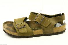 Birkenstock womens shoes size 40 9 Tuvalu sandals nubuck leather ankle strap @eBay