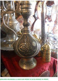 Ornament made of copper in Urfa.