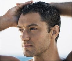 Jude Law I'm in love with him when he has short hair