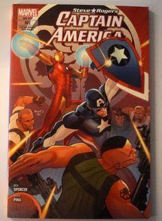 Captain America: Steve Rogers , Band 2 - Der Krieg der Helden. 96 Seiten. Nur gering beriebenes/ Bestossenes Cover (...)