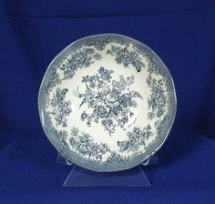Parliament by Premiere England Pattern Asiatic Pheasants Blue Coupe Bowl bfe1722 #ParliamentbyPremiere