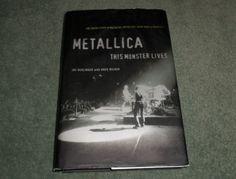 Berlinger Joe Milner Greg METALLICA This Monster Lives, HCDJ 1st, 1st, Book, GUC