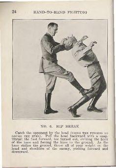 WW1 hand-to-hand