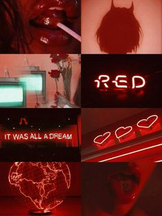 Aesthetic red