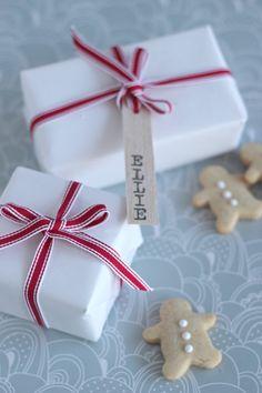 DIY: Balsa Wood Gift Tags