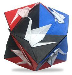 origami Crane Trisoctahedron