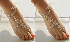 Silver anklet / payal