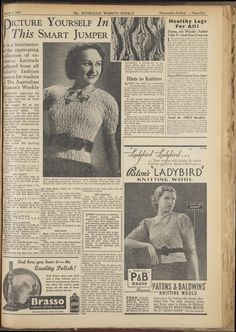 Issue: 5 Mar 1938 - The Australian Women's Week...