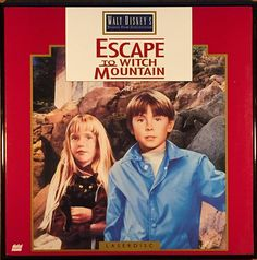 Escape To Witch Mountain LaserDisc cover