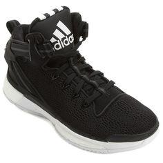 Tênis Adidas D Rose 6 Boost - Preto+Branco