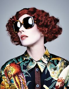 be86e68581de Karen Walker Plays 9 Different People in Her Latest Ad Campaign