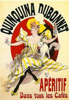 Dubonnet Liquor Wine Advertisement Art Poster Print