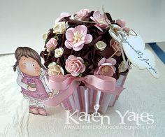 Paper Cupcake - so pretty