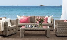 Made in heaven Outdoor Sofa, Outdoor Living, Outdoor Decor, Garden Furniture, Outdoor Furniture, Made In Heaven, Interior Architecture, Living Spaces, Design Inspiration