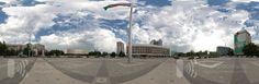 Флагшток, сферическая панорама. Театральная площадь. Краснодар http://gid23.ru/city/item/220-flagshtok