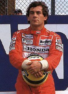 Ayrton Senna (1960 - 1994) Auto Race Driver. Ayrton Senna da Silva was the world's fastest Grand Prix driver in the 1980s and 1990s.
