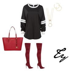 """Simple&Cute..."" by colorhertrendy on Polyvore featuring Michael Kors and Kate Spade"
