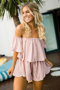 Bella Babe (Pink) Playsuit