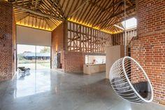 Loft dans une grange par David Nossiter Architects