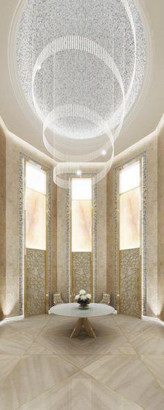 Luxury Home Designs - Ions Interior Design   Luxury Dining Room   Dubai- LadyLuxuryDesigns