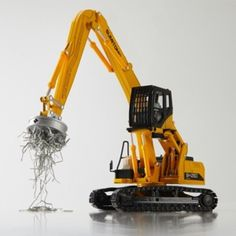 F/S Sumitomo Machinery SH250-6MH Excavator 1/40 Diecast Model From Japan New 232 #SumitomoMachinery