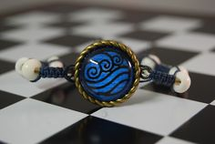 Water tribe bracelet... very cute! acatar the last airbender