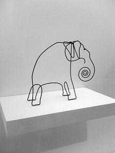 Alexander Calder Wire Sculpture