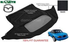 Cool Great Mazda Miata Convertible Soft Top & Plastic Window 1990-2005 Black Haartz Cabrio 2018 Check more at http://24go.cf/2017/great-mazda-miata-convertible-soft-top-plastic-window-1990-2005-black-haartz-cabrio-2018/